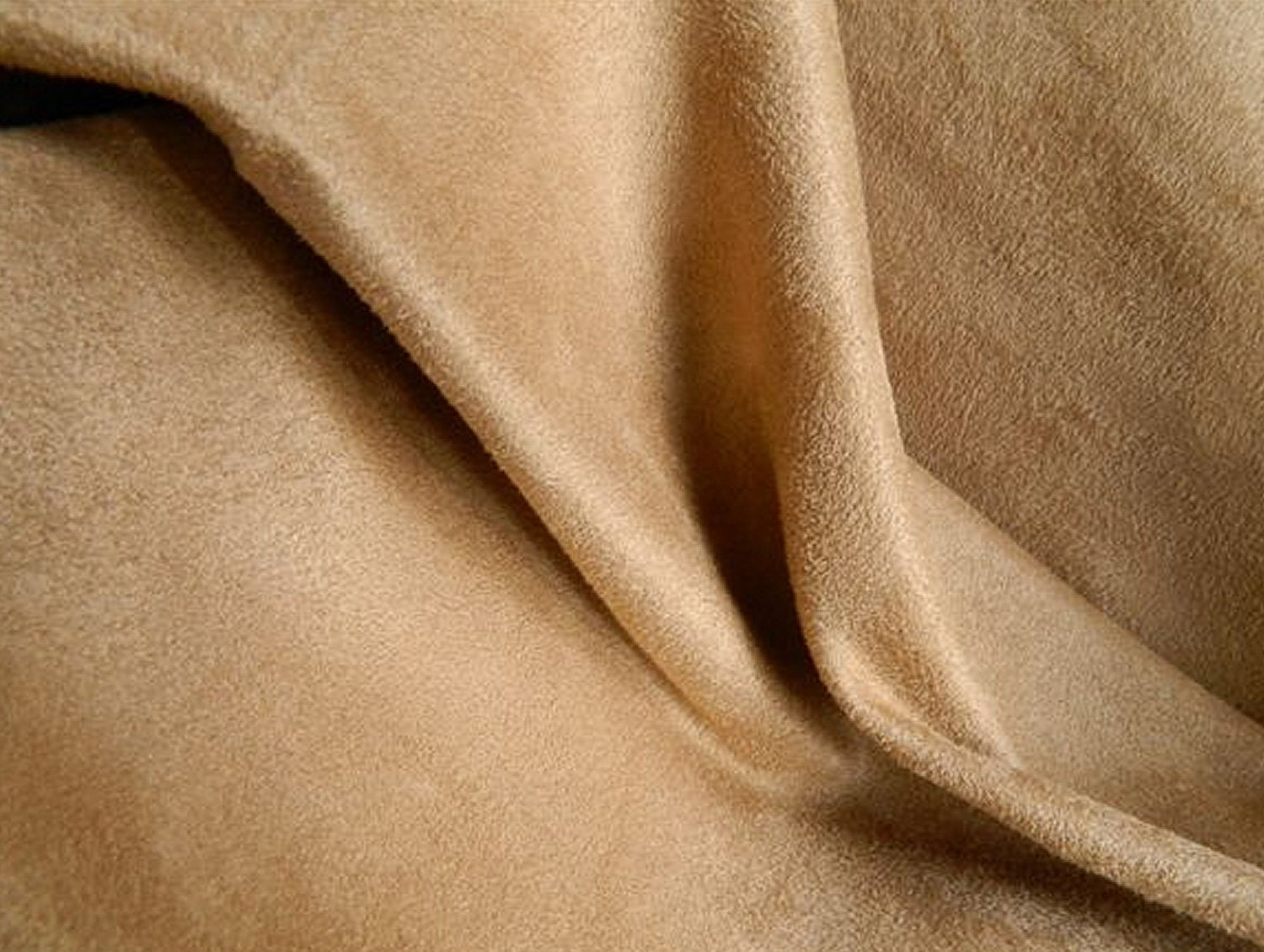 Suede Upholstery Fabric >> SOFT Washable Microfiber Ultrasuede Fabric CAMEL Slipcovers