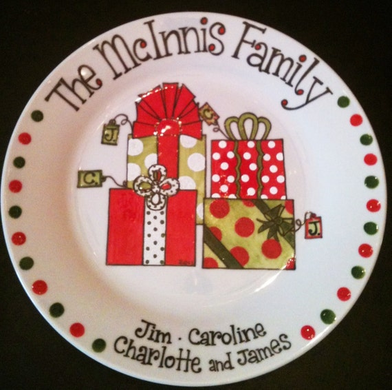Family Christmas Gift Personalized Holiday By Thewildbaby