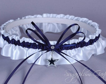 Dallas Cowboys Wedding Garter - Ready to Ship