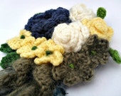 Crochet Flower Bouquet Br...
