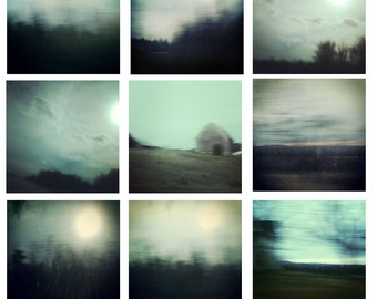 "Collection of Landscapes - nine 8""x8"" prints"