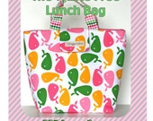 The Waste Free Lunch Bag PDF Pattern Simple Stylish Eco Conscious