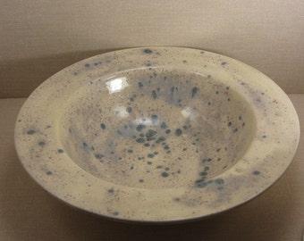 SALE! Rimmed Pottery Glazed Serving Bowl (Sale 50%off, Coupon Code: SALE50)