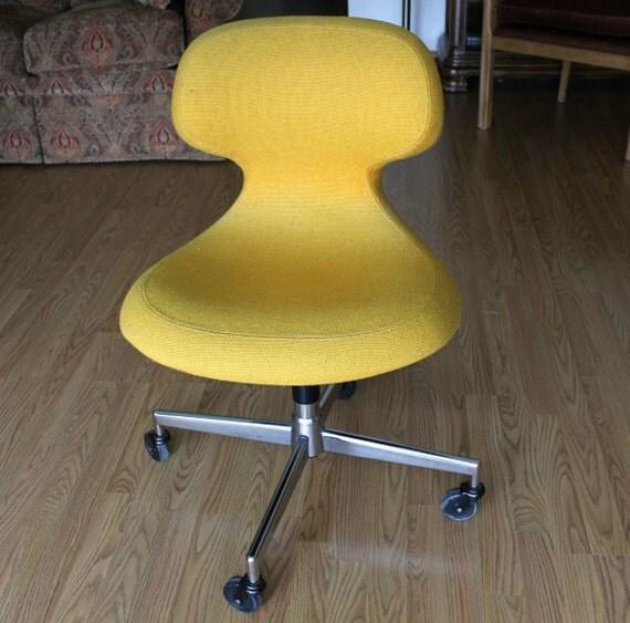 harter office chair ergonomic mid century modern saarinen era womb egg