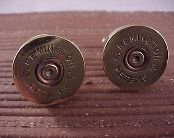 Shotgun Cufflinks / Remington 12 Gauge Shotgun Cuff Links / Wedding Cufflinks / Groomsmen Gift / Fathers Day Gift / Gifts For Men