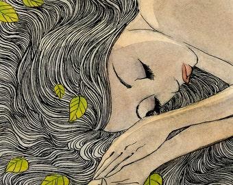 Daydream - 11 x 14 print