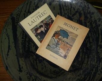 LAUTREC and MONET Famous artists BIOGRAPHY Art book