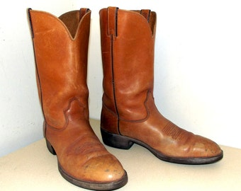 Great Looking Vintage Durango Cowboy Boots