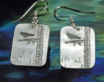 Dangle Earrings- Sparrows