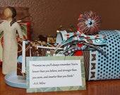 Custom Order for VIVANTE: Affirmation Mailbox Love Notes for 50th Wedding Anniversary