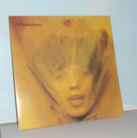 Vintage The Rolling Stones Album - 1973 Goats Head Soup LP - Vintage Vinyl Album - Rolling Stones Record - Old Stones Record - Vinyl Record