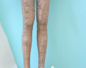 Jiajiadoll- camel lace up legging fits Momoko or Blythe or Misaki