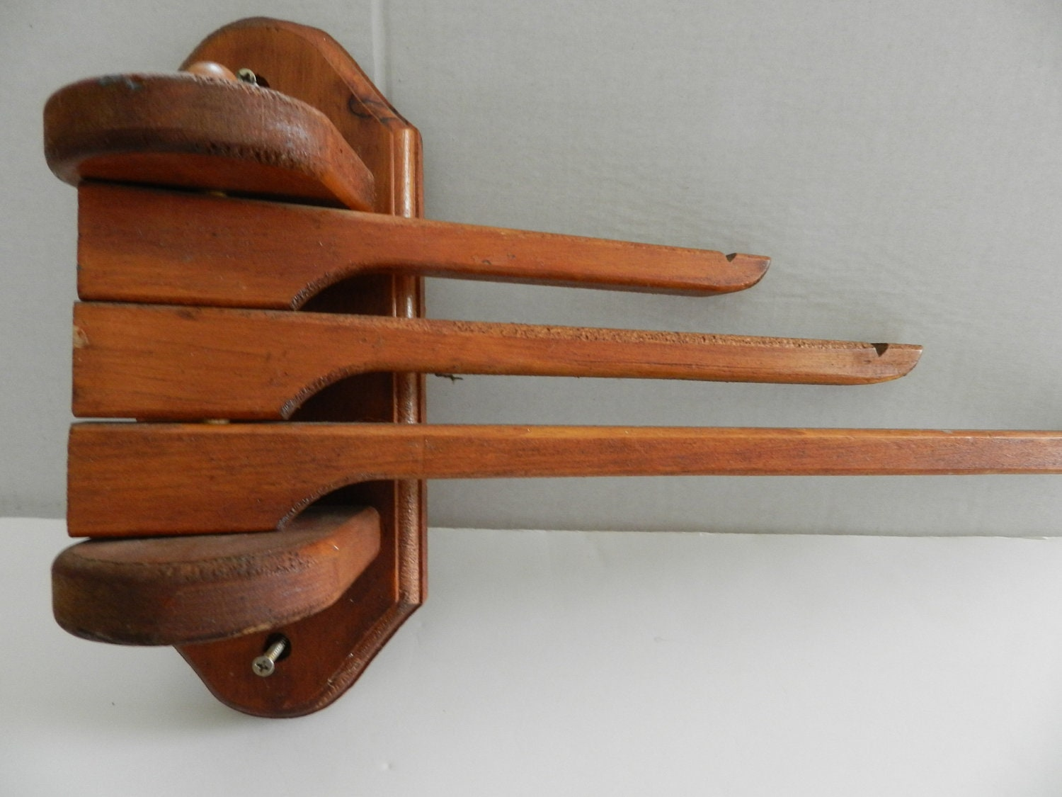 Wooden Linen Towel Drying Rack By Snowycreekdesigns On Etsy