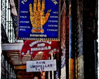 Fortune Teller  - New Orleans Photography - Travel Photography