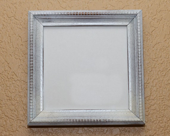 Distressed Frame for 6 x 6 print - Art - Home Decor - Shabby Chic