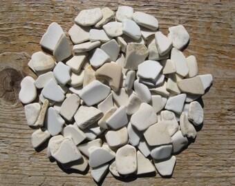 SMALL Bulk CRAFT Beach Glass CERAMIC Pottery Mosaic Supply Sea Glass