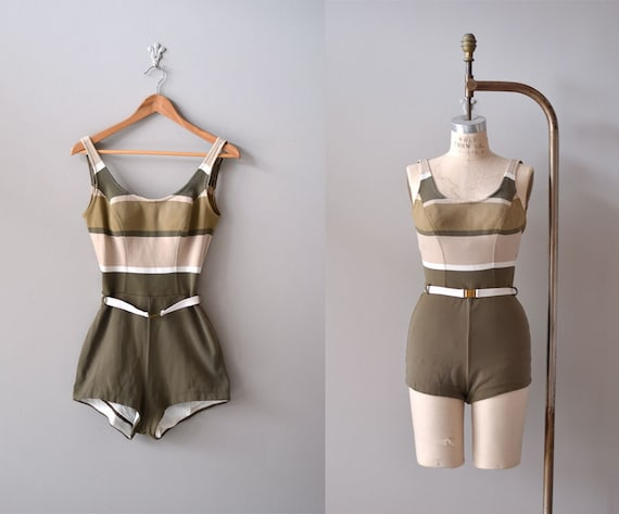 1960s swimsuit / vintage 60s bathing suit / Catalina maillot