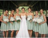 Custom Cotton Bridesmaid Dresses for Your Wedding
