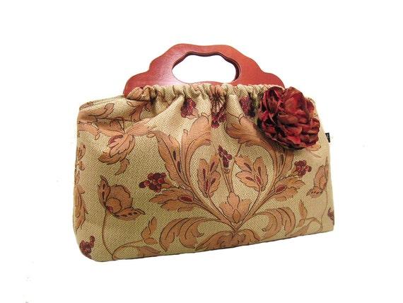 Two Left - Top Seller - The Knitting Bag - Vintage Floral - Made to Order