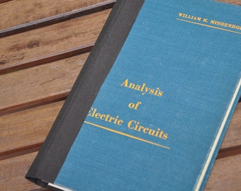 Electric Circuits--upcycled blank book