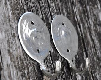 Mini Silver Soup Hooks