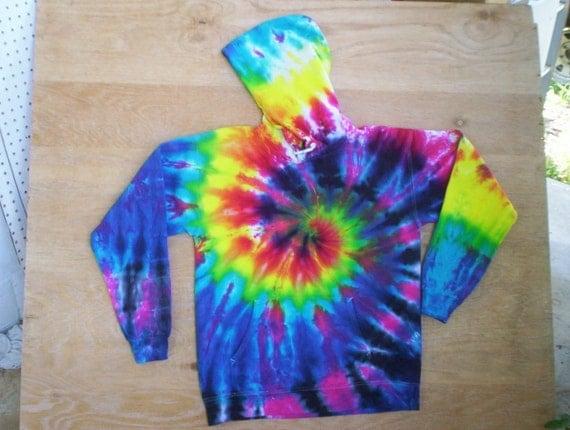 Pastel Tie Dye Hoodie Pastel Rainbow Tie Dye Hoodie