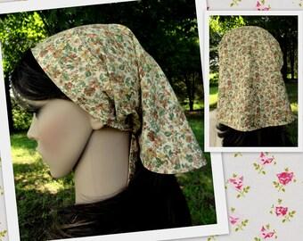 Headscarf Head scarf Bandana Head cover - Veil Headcovering - Womens Head covering Veiling Bandanna Prayer Head cover Modest Clothing
