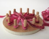 flower loom kit, diy fabric flowers, craft kit, how to make fabric flowers