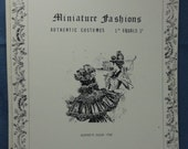 Miniature Fashions Volume One by Beverly Dahl