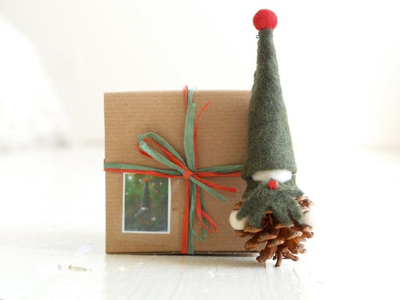 Diy Christmas Ornaments Etsy : Christmas ornament kit diy handmade xmas decoration by