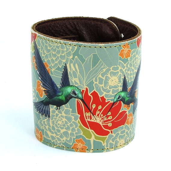 hummingbird leather cuff tovie corrie