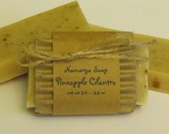 Pineapple Cilantro Cold Process Soap