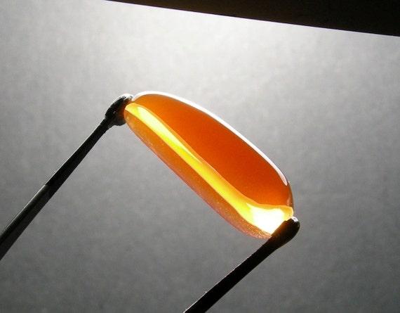 Red Orange Fire Opal From Opal Butte OBPAL8