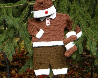 Gingerbread Boy Baby Snowsuit
