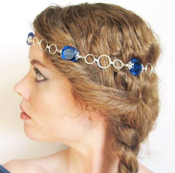 Blue Jewel Renaissance Circlet