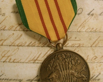 Stunning Antique Medal Ribbon Badge