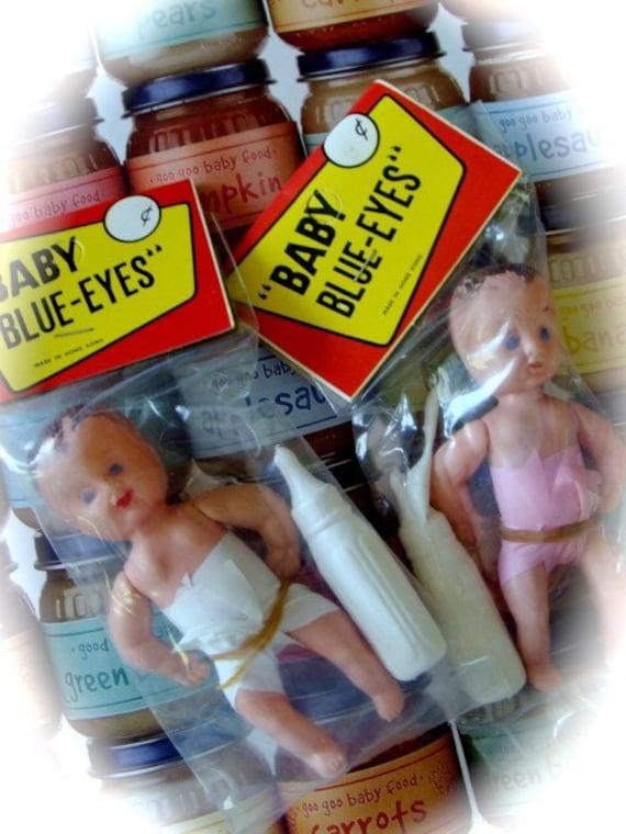 Adorable Nostalgic Antique Baby Blue Eyes Limited supply