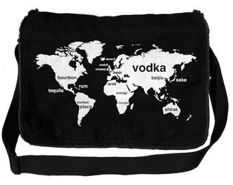 Booze World Messenger Bag