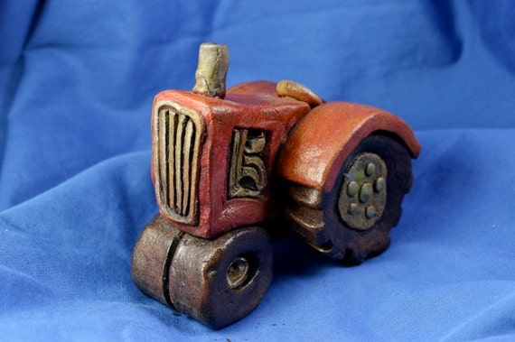 Clay Tractor