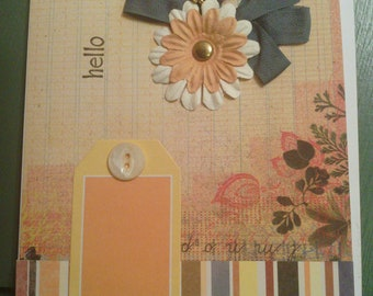 Blank All Occasion Handmade Card