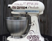 Kitchen Mixer Graphics - Coffee