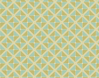 SUMMER SALE - 12 1/2 yards - Notting Hill - Frames in Fern -Joel Dewberry for Free Spirit - sku PWJD059-Fern