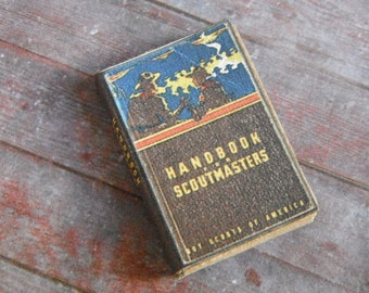 Miniature Book --- Handbook for Scoutmasters