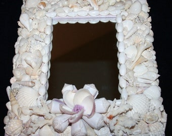 Seashell Mirror One of a Kind