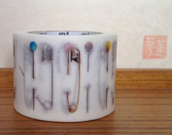 mt washi masking tape - 2012 A/W -  mt ex - pins