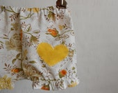 Baby Girls clothes bloomers- Vintage inspired floral Bloomer- 6 m months