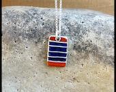 Blue Field Necklace