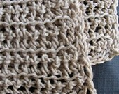 Organic Hemp Twine Washcloths Naturally Dyed in Coffee