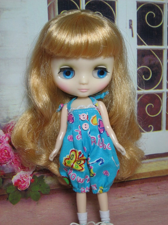 Blue Rompers for Middie Blythe