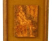 Pair of Mid-Century Harris G. Strong Framed Tiles